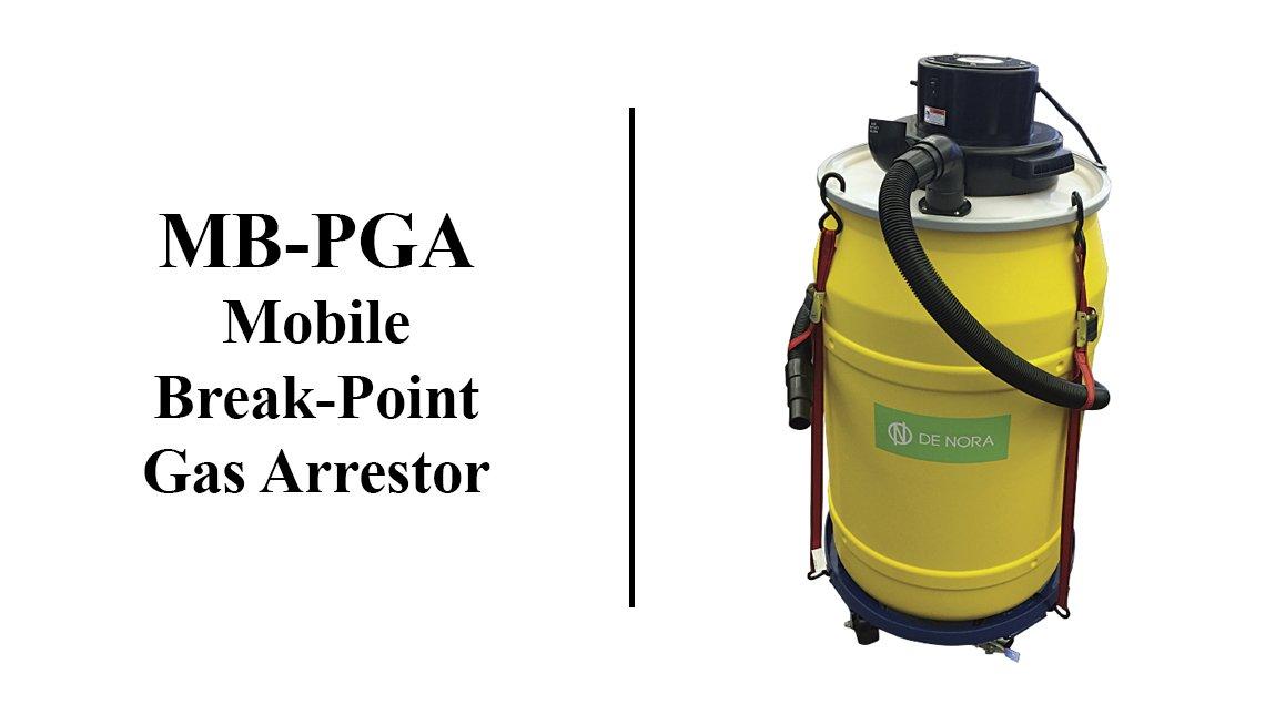 مطهر الغاز المسرب المتنقل طراز MB-PGA