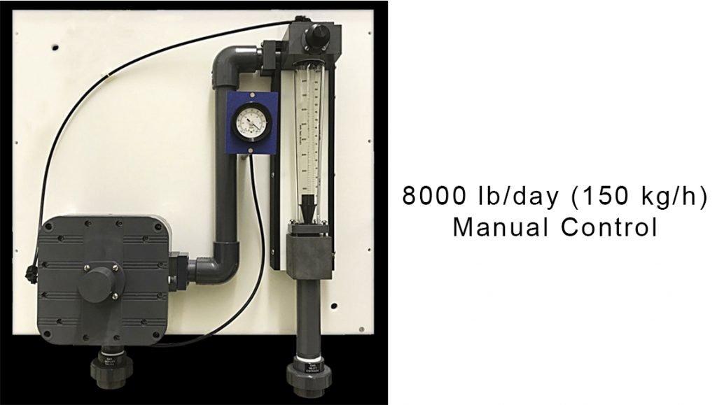 8000WP Manual Control
