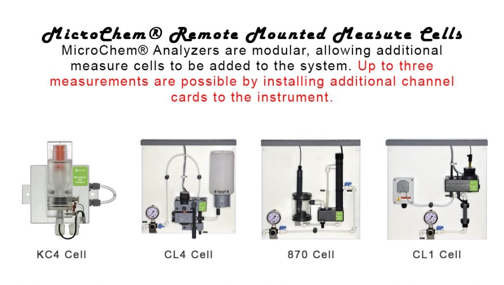 MicroChem® Remote Mounted Measure Cells